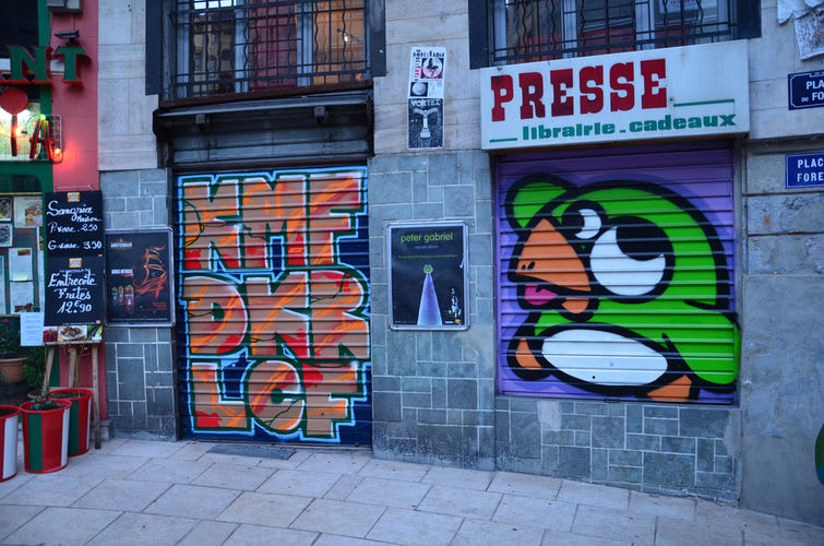 Artwork By Pec in Lyon