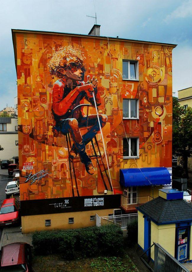 Œuvre Par Robert Proch à Lublin