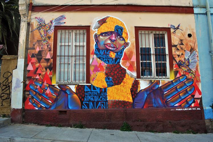 Artwork  in Valparaíso