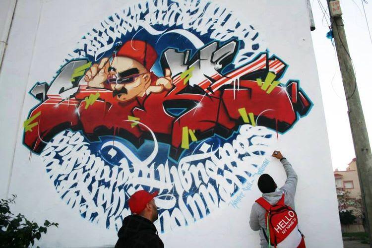 Artwork By InkMan in Tunis