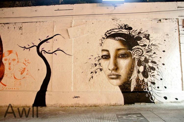 Œuvre Par Liliwenn à Comuna 1, Buenos Aires