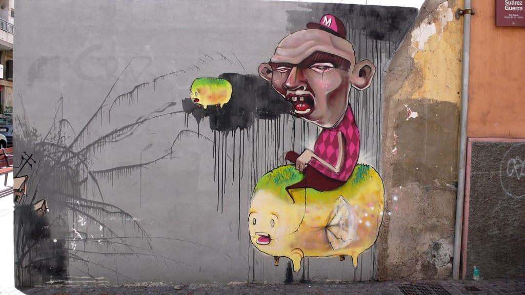 Œuvre Par Muro à Santa Cruz de Ténérife