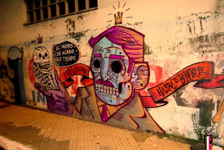 Artwork By ozmontania in Asunción