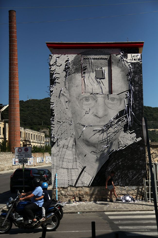 Read between the lines : the art of stencil by Sten Lex