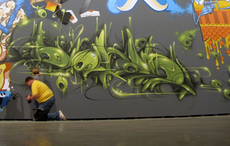 Artwork  in Pamplona