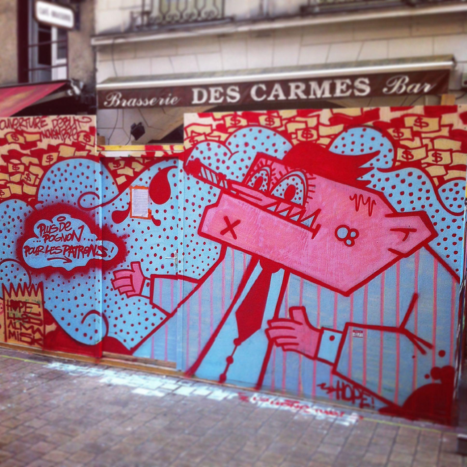 Œuvre Par Mr Hope à Nantes