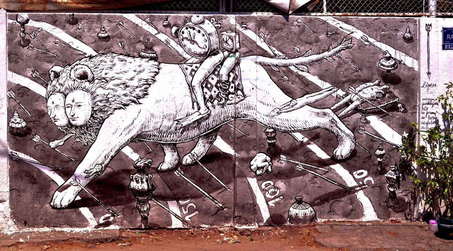Artwork By Liqen in Guadalajara