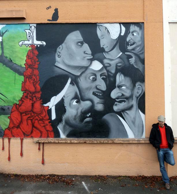 Œuvre Par oré à Caen