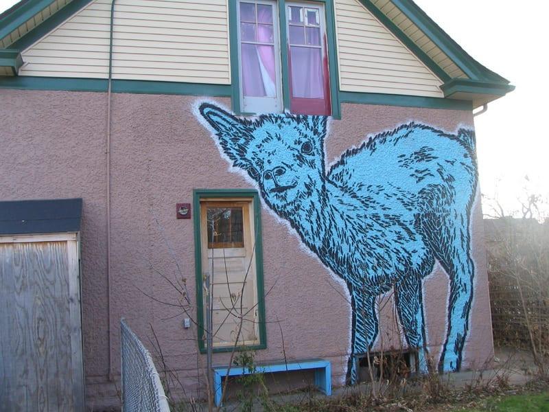Artwork By Broken Crow in Minneapolis