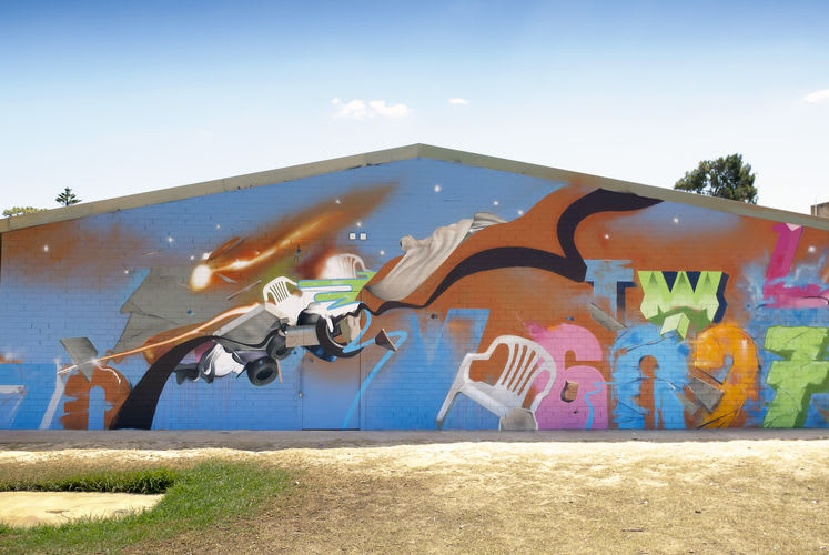 Œuvre Par Trevor Levens à Sydney