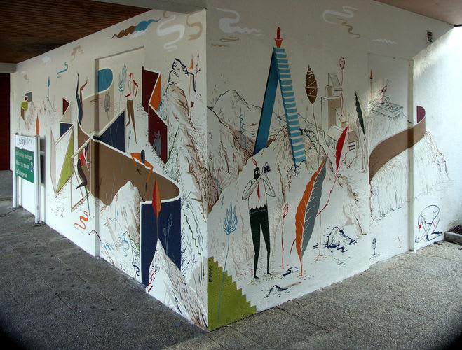 Œuvre Par Mioshe à Rennes