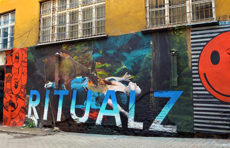 Œuvre Par Zbiok à Varsovie