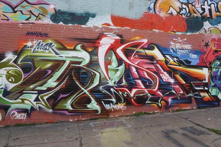 Artwork By Revok in New York City