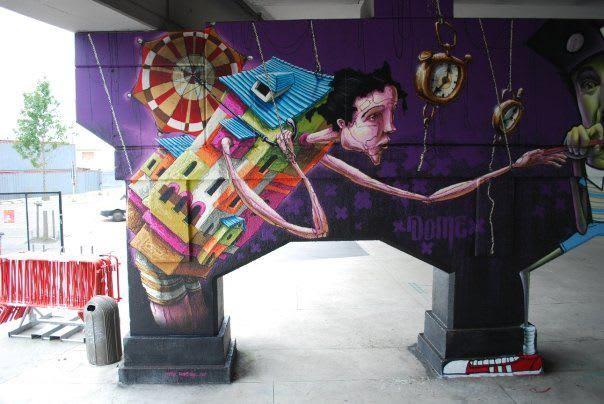 Œuvre Par Dome à Anvers