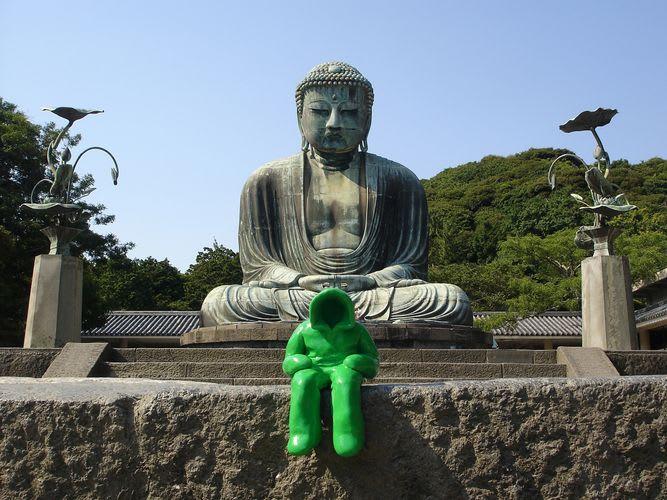 Artwork  in Kamakura Shi