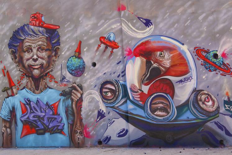 Artwork By Mr. Trazo in Coristanco