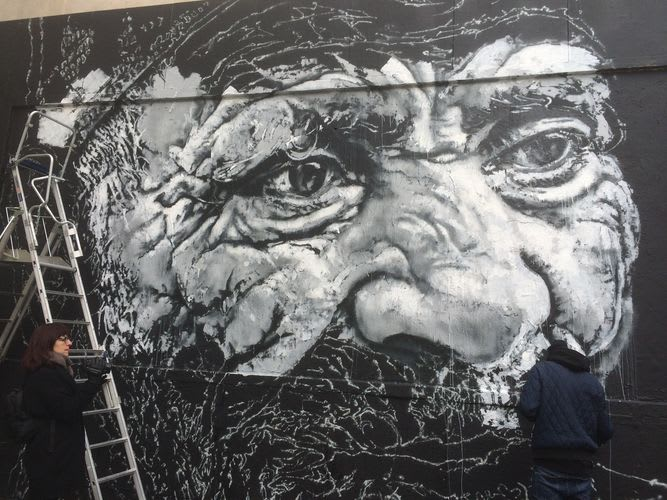 Artwork By ecb in Paris