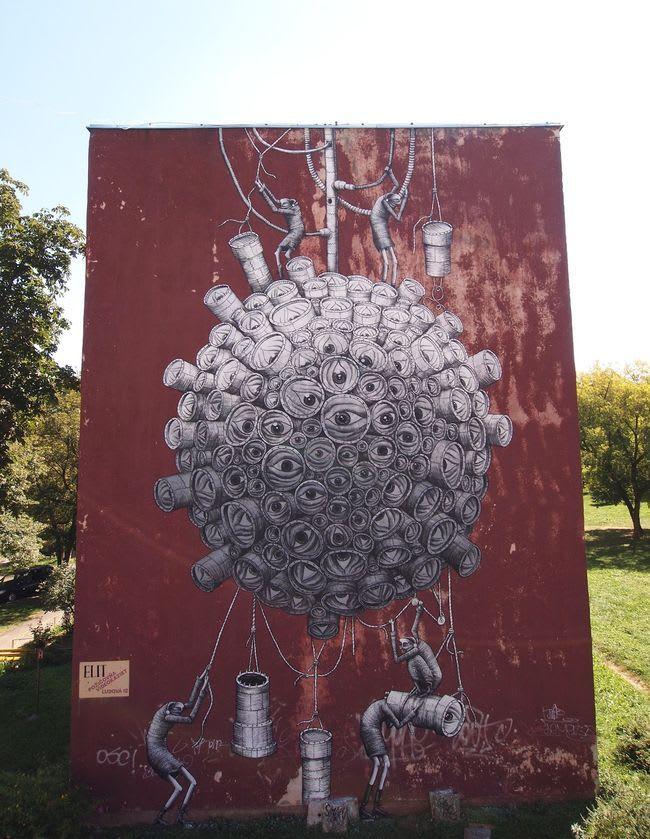 Artwork  in Radawie