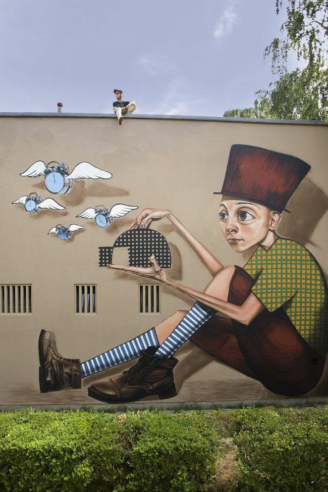 Œuvre Par Lonac à Zagreb