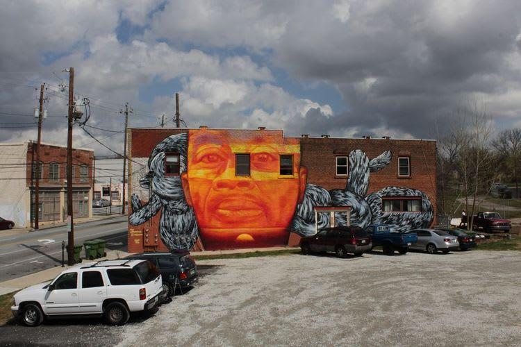 Œuvre Par Gaia à Atlanta