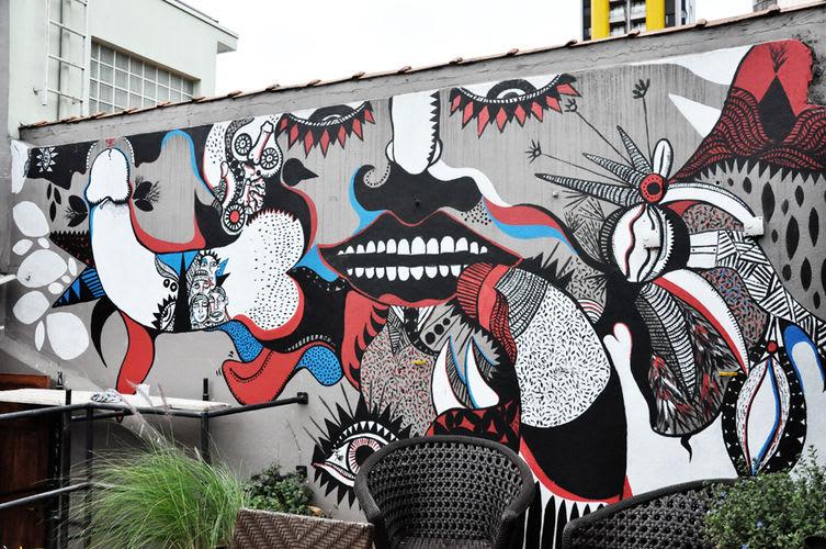 Artwork  in São Paulo