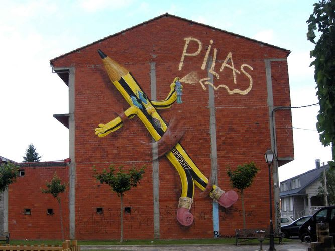 Œuvre Par Pelucas à Monforte de Lemos