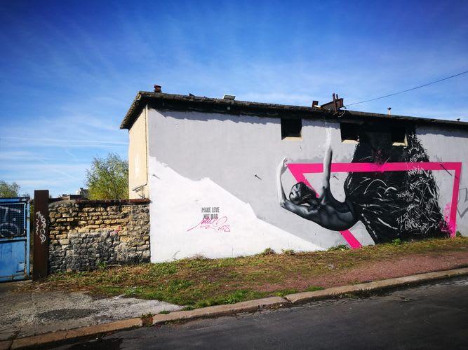 Œuvre  à Caen
