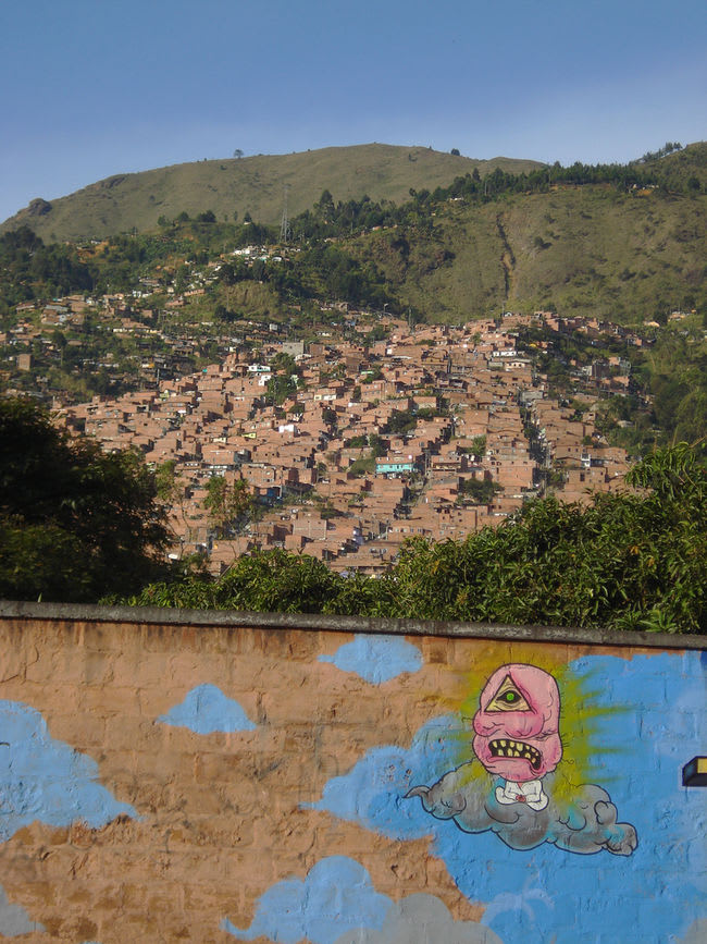 Œuvre  à Medellín