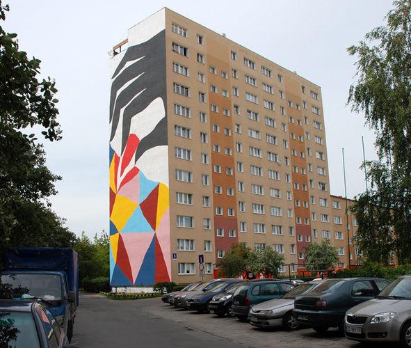 Œuvre  à Gdańsk