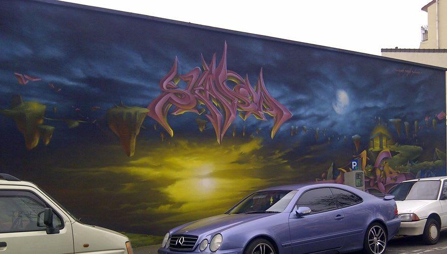 Artwork  in Bondy