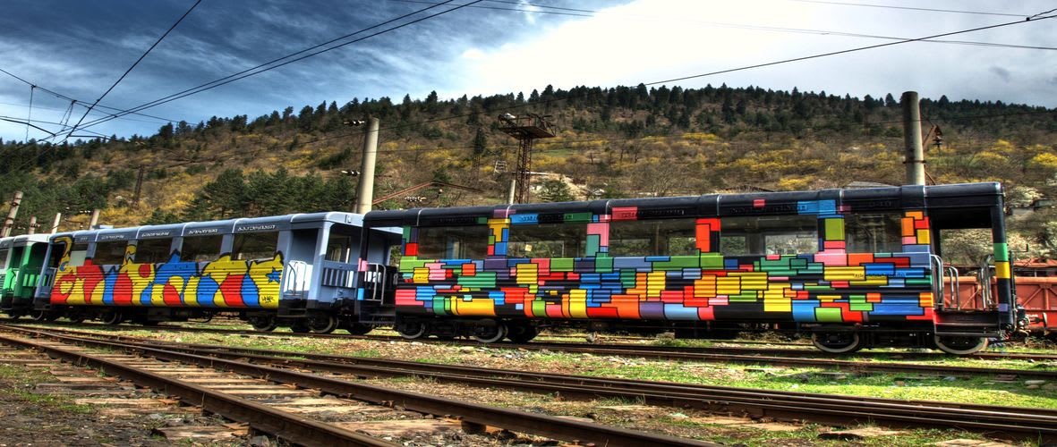 Artwork  in Borjomi