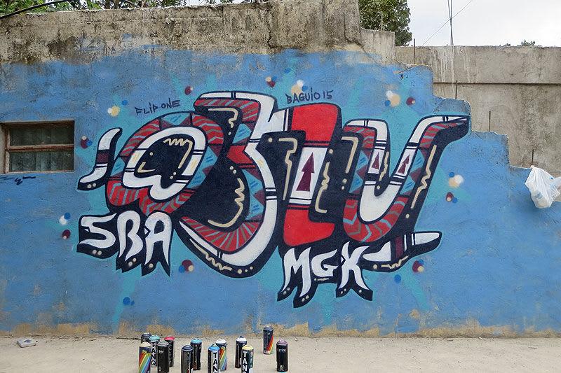 Œuvre Par Flip-1 à Baguio, Baguio