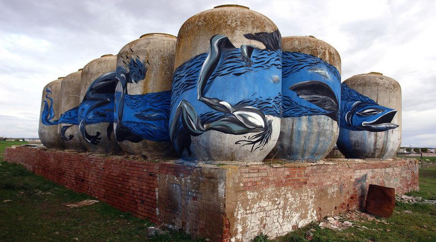 Œuvre Par Laguna à Almagro