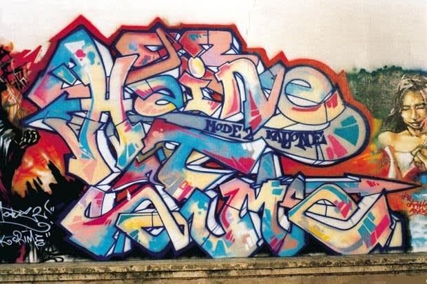 Artwork By Mode2 in Saint-Denis