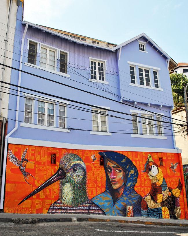 Artwork  in Puerto Montt