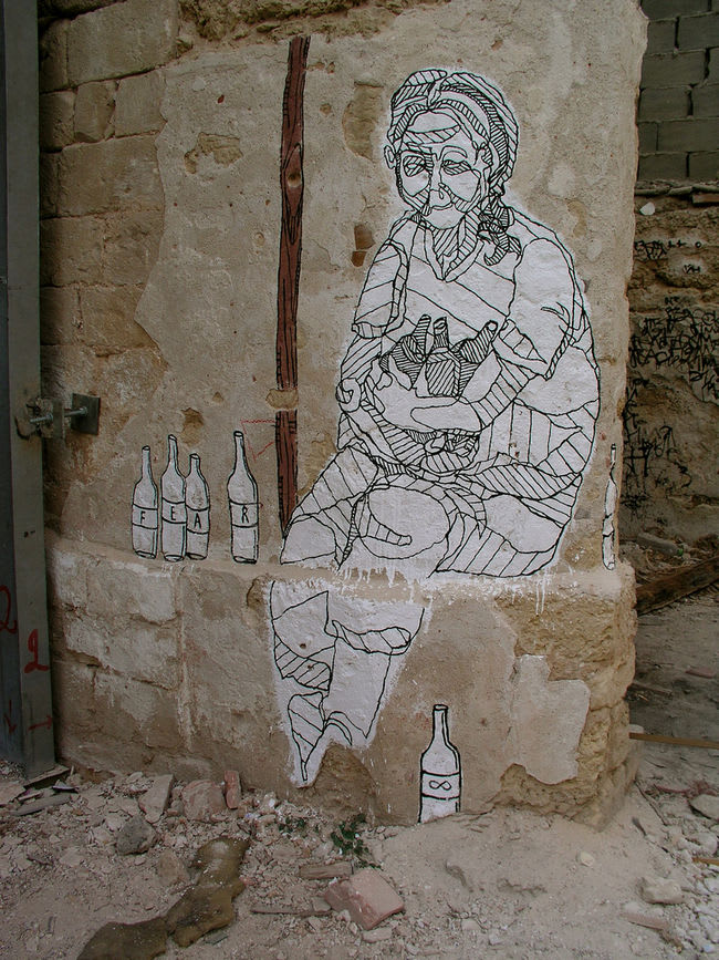 Œuvre Par Foma <3 à Tel Aviv-Jaffa