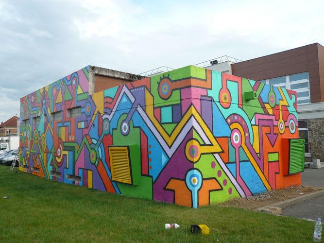 Œuvre Par Seize Happywallmaker à Rambouillet