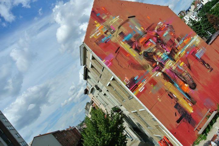 Artwork By Steve Locatelli in Brussels