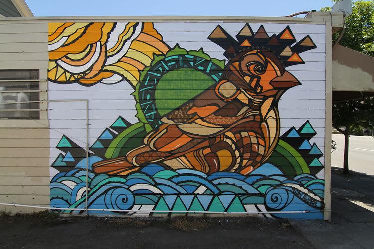 Œuvre  à Oakland