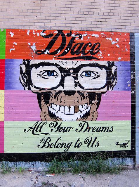 Artwork By D*face in Bellflower