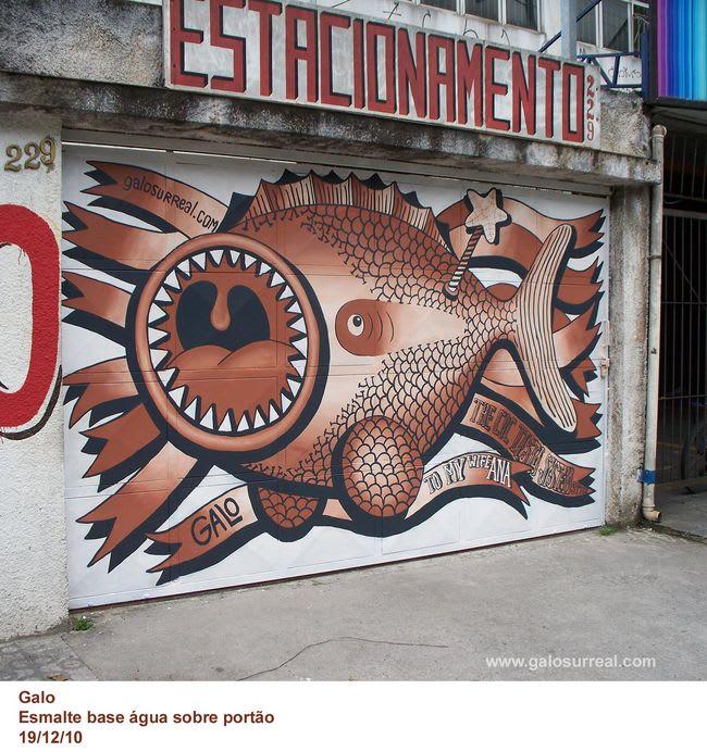 Œuvre  à São Bernardo do Campo