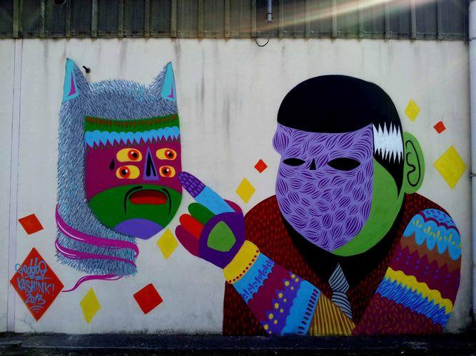 Artwork By Kashink, Goddog in Avignon