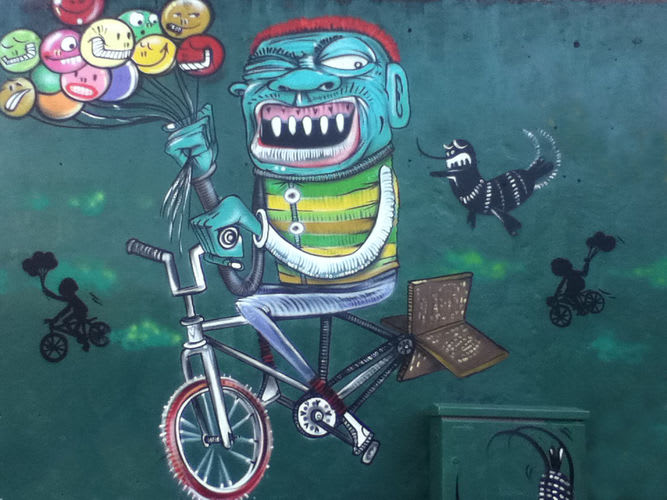 Œuvre Par Binho à Rio de Janeiro
