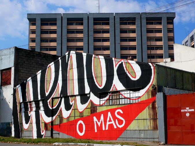 Artwork  in Guatemala City