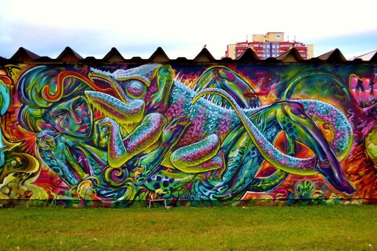 Œuvre  à Florianópolis