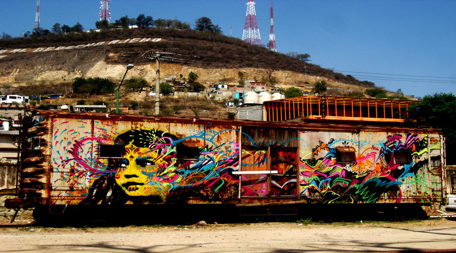 Artwork By stinkfish in Oaxaca de Juárez Municipality