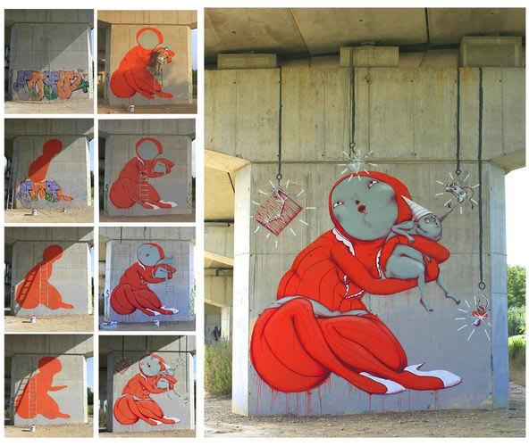 Œuvre  à Milan