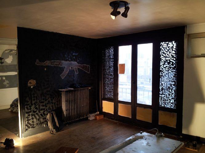 Artwork By Shoof in Paris