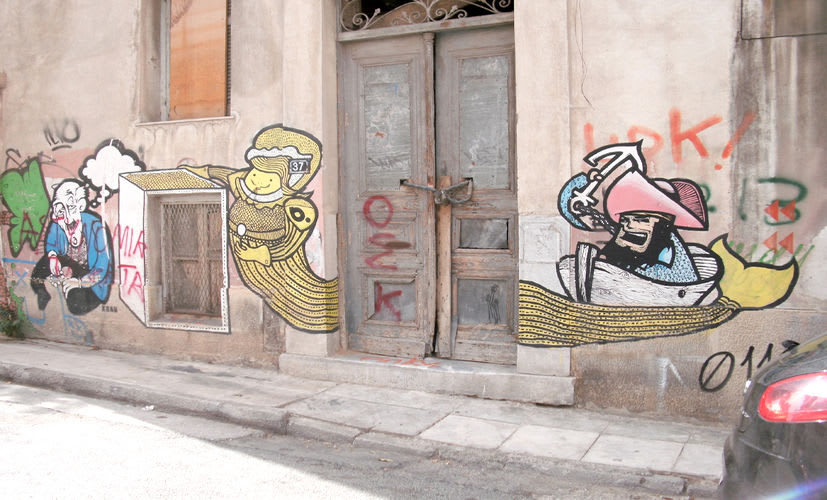Œuvre Par The Krah, B. (Bworld) à Athènes