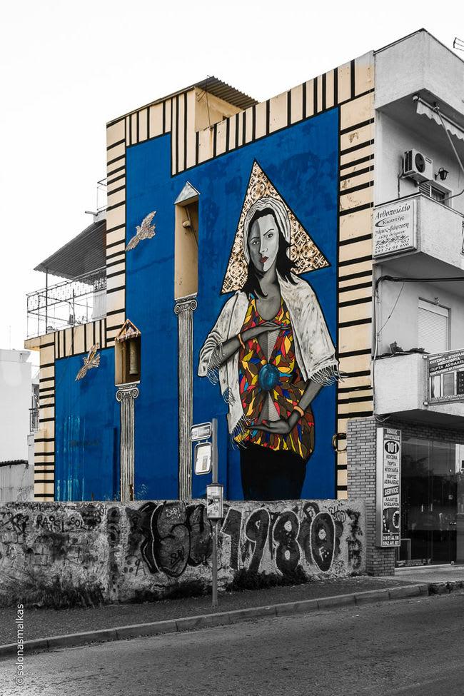 Œuvre Par bleeps.gr à Athènes